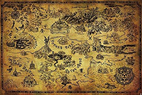 Póster The Legend of Zelda/La Leyenda Zelda