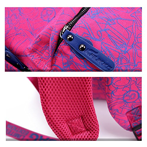 YAAGLE Neu Hit Farbe Rucksack koreanisch Schüler Schultasche Reisetasche Laptoptasche Schultertasche-khaki Lake Placid Blue