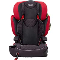 Graco Affix Kindersitz 15-36 kg, Autokindersitz ab 4 bis 12 Jahren, Gruppe 2/3, Konnektoren zur Fixierung am Isofix…
