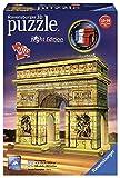 Ravensburger Puzzle 3D Arco del Triunfo Night 216 Piezs. 12522