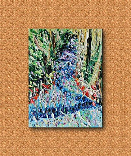 Regalo per natale quadro astratto | colorato | materico | espressionista | dipinto a mano | pezzo unico | e ideale per | arredamento | ambiente | raffinato| olio su tela 40x30cm