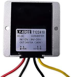 Dc 12v Auf 24v Spannungswandler 10a 240w Auto Netzteil Elektronik
