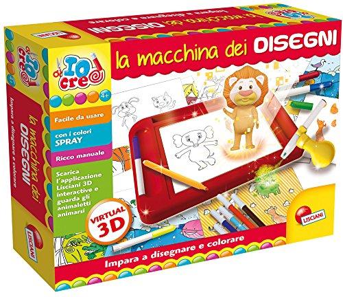 Lisciani Giochi 63758-Io Creo la máquina de Dibujo