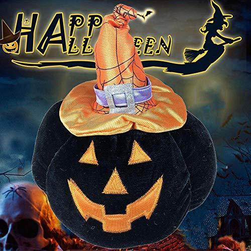 ALIKEEY Netter Halloween-Kürbis-Kopf-Plüsch-dekorative angefüllte Spielwaren ()