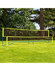 Vermont Procourt Mini Tennis & Badminton Kombination net | Konvertiert in Sekunden | Hochwertige Materialien | 100% Portable | 3M, 6M oder 9M verfügbar | Kinder Tennis Set