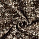Fabulous Fabrics Strickbouclé fein meliert - braun/Oliv -