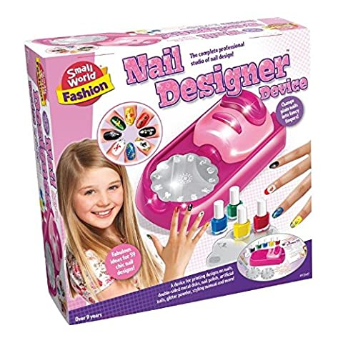 Entertaining Activity Nail Art Kit Girl Girls Kids Children Child