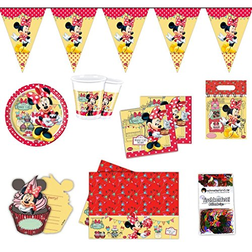 Folat Minnie Mouse Party Set (Party-tüten Minnie Mouse)