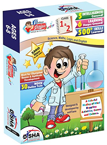 Perfect Genius Junior For Class 1 & 2 (Olympiads, Science, Maths, Logic And English) Ages 6 To 8 (English) price comparison at Flipkart, Amazon, Crossword, Uread, Bookadda, Landmark, Homeshop18