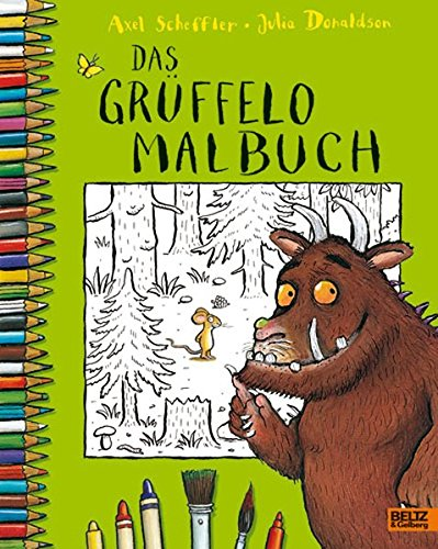 Buchseite und Rezensionen zu 'Das Grüffelo-Malbuch' von Axel Scheffler
