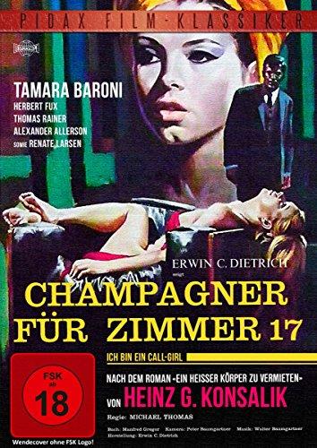 """Heinz G. Konsalik: Champagner für Zimmer 17 - Verfilmung des Bestsellers """"Ein heißer Körper zu vermieten"""" (Pidax Film-Klassiker)"""