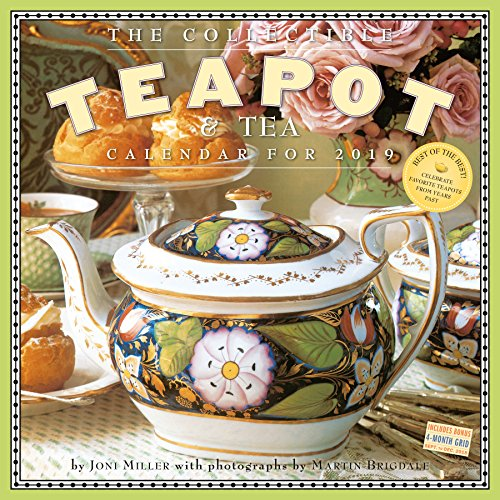 The Collectible Teapot & Tea 2019 Calendar par Workman Publishing