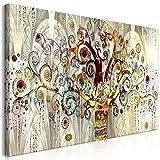 murando - Cuadro Gustav Klimt 140x70 cm impresión en Material Tejido no Tejido Cuadro de Pared Foto impresión artística fotografía Imagen gráfica decoración Arbol Piedras Arte l-A-0033-b-a