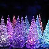 TianranRT Weihnachten Weihnachten Baum Farbe Ändern LED Licht Lampe Zuhause Party Dekoration Hochzeit