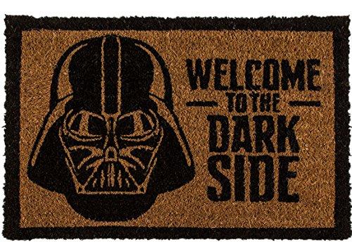 Türmatte Star Wars Darth Vader Welcome To The Dark Side Kokosmatte 60 x 40 CM 04 (Dark Vader Star Wars)