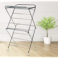 SYNERGY - Super Heavy Duty 3 Tier Stainless Steel Foldable Cloth Dryer / Clothes Drying Stand (SY-CS12)