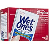 Wet Ones Antibacterial Hand Wipes Singles - 24 CT by Energizer Personal Care