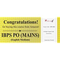 Practice Guru Topic Wise Tests For IBPS PO (MAINS) (Voucher) [License]