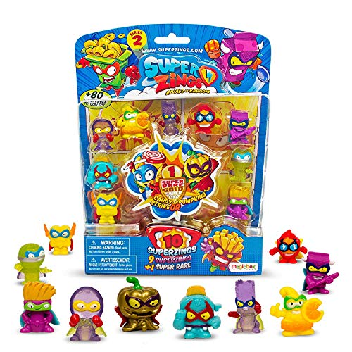 Superzings - 10 Figure Pack, Serie 1, Assortito