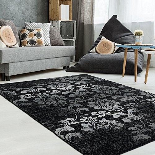 Moderner Pastell farbener Designer Teppich used Look Shabby chic Patchwork Öko Tex 100 zertifiziert...