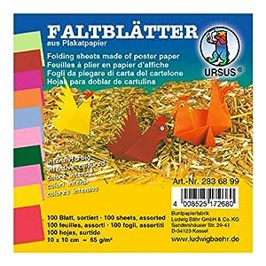 Ursus plegable hojas Intensivo Color surtidos en 10colores