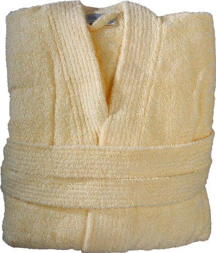 Sensei 096147L.27 Luxury Peignoir De Bain Taupe Taille L Jaune