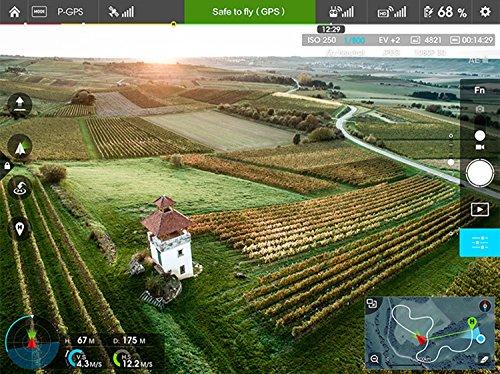 DJI DJIIN1R Inspire 1 Aerial UAV Quadrocopter Drohne mit Integrierter 4K, Full-HD Videokamera, Digitaler Fernsteuerung schwarz/weiß - 11