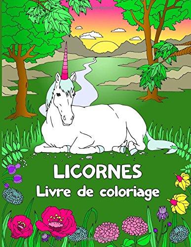 Licornes Livre de coloriage par Livre de coloriage