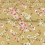 Stoffe Werning Dekostoff Kirschblüten rosa pink
