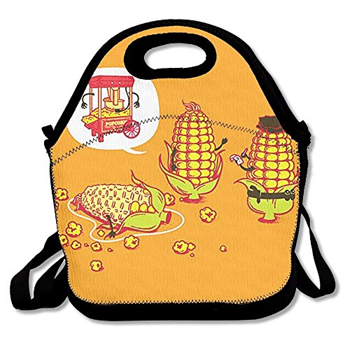 fengxutongxue Lunch Tote Death of Corn Lunch Boxes Lunch Bags Handbag Food Storage Fits for School Travel Work Outdoor