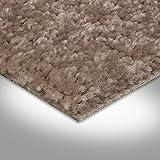BODENMEISTER BM72182 Teppichboden Auslegware Meterware Hochflor Shaggy Langflor Velour beige dunkel 400 cm und 500 cm breit, verschiedene Längen, Variante: 3 x 4 m