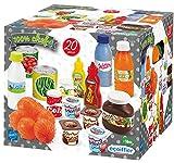 Jouets Ecoiffier - 2644 - Pack Drive 100 % Chef - Imitations d'aliments pour enfants - 20 pièces - Dès 18 mois - Fabriqué en France