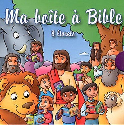 Ma boîte à Bible : 8 livrets : La Création ; L'arche de Noé ; David et Goliath ; Daniel et les lions ; La naissance de Jésus ; Paraboles de Jésus ; Miracles de Jésus ; L'histoire de Pâques par Jakob Kramer