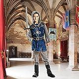 Kostümplanet® Ritter-Kostüm Kinder Jungen + Stiefel-Stulpen Faschingskostüm Größe 152 - 6