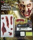 Horror-Shop 7-tlg. Zombie Schmink Set für Halloween & Karneval