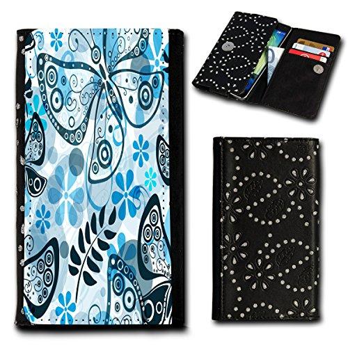 Book Style Flip Handy Tasche Case Schutz Hülle Foto Schale Motiv Etui für Phicomm Energy L - Flip SU1 Design4
