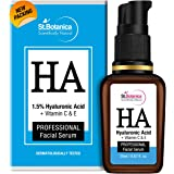 StBotanica Hyaluronic Acid 1.5% Face Serum + Vitamin C, E For Intense Hydration - 20ml