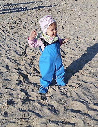Baby Wathose kinder Krabben Regenkleidung wasserdichte winddicht Kinderwathose