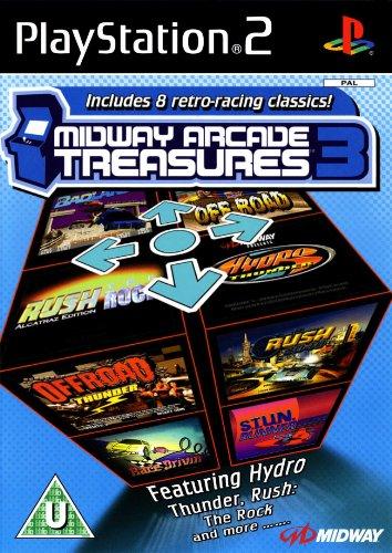 Midway Arcade Treasures 3 - PS2 - IT & ES (Treasures Arcade 2 Midway)