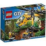LEGO City In/Out 2017 - Jungla: Helicóptero de transporte (60158)