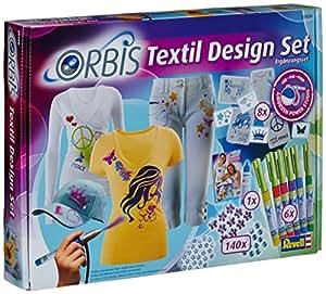 orbis airbrush orbis textil design set textilfarbset zum spr hen auf hellen textilien. Black Bedroom Furniture Sets. Home Design Ideas