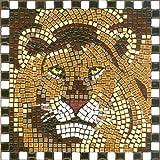 kit de mosaïque, 20x20cm, Lion