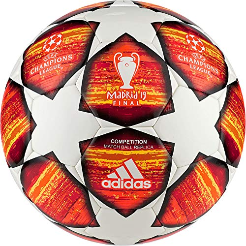 adidas Performance UCL Finale Madrid Competition Fußball orange/weiß, 4 -