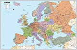 Carte de l'Europe-en vinyle géant-Taille 100x 150cm [GM]...