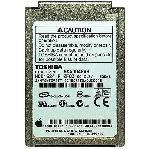 40GB disco rigido per iPod Toshiba MK4004gah 4,6cm (1,8) IDE id11559