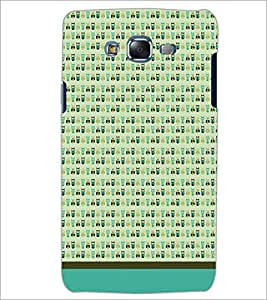 PrintDhaba Owl Pattern D-1647 Back Case Cover for SAMSUNG GALAXY J7 (Multi-Coloured)