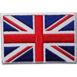 Generic 5pcs UK Flag Embroidery Non-woven Patch DIY Sewing Needlework Accessories One Piece