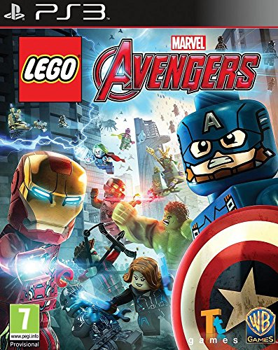 Lego Marvel's Avengers (PS3) - Lego Avengers Games Video