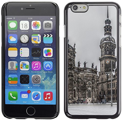Graphic4You Berlin Germany Postkarte Ansichtskarte Design Harte Hülle Case Tasche Schutzhülle für Apple iPhone 6 Plus / 6S Plus Design #1