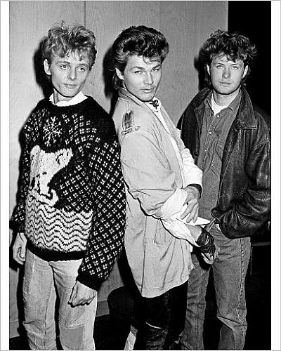 Photographic Print of A-Ha - London - 1986